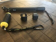 ***GoPro HERO5 Session BUNDLE 4K HD Action Camera - Black *missing charger NO SD