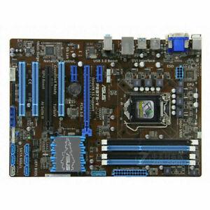 1PCS ASUS B75 Motherboard P8B75-V LGA 1155 Socket, Intel B75 Chipset DDR3 Memory