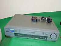 SONY SLV-SF90 Video Cassette Recorder VHS VCR SMART ENGINE Quality Silver Grey