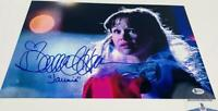Danielle Harris signed Halloween 11X17 METALLIC photo BAS COA H32911