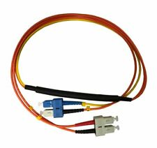 3 Meter SC- 50/125 MM/SC- SM Mode Conditioning Fiber Optic Patch Cable (SC Equip