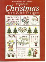 BH&G Treasury of Christmas Cross Stitch Designs Pattern Leaflet