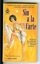 SIN A LA CARTE by Loren Beauchamp, rare Midwood #148 sleaze gga pulp vintage pb