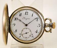 Reloj saboneta LONGINES suiza circa 1919