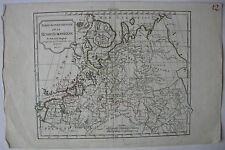 Ansichten & Landkarten aus Russland mit Kupferstich