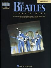 The Beatles Classic Hits Songs Learn to Play Beginner Easy GUITAR TAB MUSIC BOOK