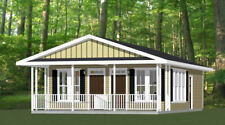 24x30 Duplex -- PDF Floor Plan -- 720 sq ft -- Model 1