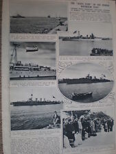 Photo article Spain Republican navy at Bizerta France 1939