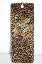 "Gift Trenz Leopard 3-D Bookmark w/Tassel James Piazza 6"" 16220 regular/white"