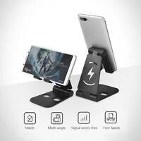 Universal Cell Phone Holder Adjustable Stand Desk Swivel Foldable Mount Bracket