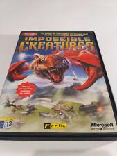 Impossible CreaturesPc Cd Rom Microsoft game studios