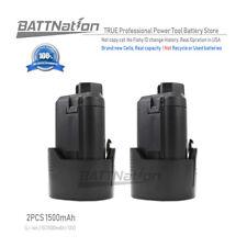 2 x 12V 1.5AH Li-Ion Battery for 12 Volt RIDGID AC82048 Lithium-Ion Power Tool