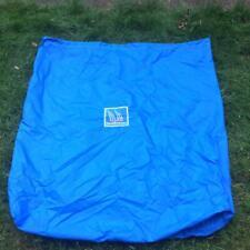 Heavy duty blue nylon sail bag