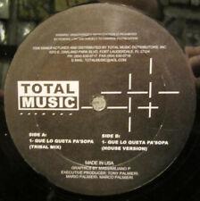 """Tony Palmieri - Que Lo Queta Pa'sopa / VG+ / 12"""", Single"""