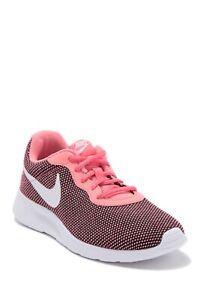 Nike Tanjun Women's Running/Walking Shoes New Black/White/Pink Glaze #BV7432 002