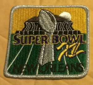 Super Bowl XII Cowboys vs Broncos New Orleans January 25, 1981 Patch