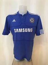 Chelsea London 2009/2010 Home Size L Adidas shirt jersey football soccer maillot