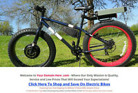 UNIQUE, 1 OF A KIND ELECTRIC BIKES WEBSITE BUSINESS FOR SALE - FULLY STOCKED!