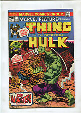 MARVEL FEATURE #11 (9.2) HULK VS THING. 1ST SOLO THING!