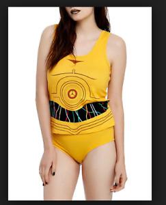 Underoos Star Wars Cami Tank + Panty Set  Cotton S  NO BOX