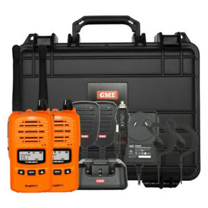 GME TX6160 5W UHF Handheld Twin Pack (Orange)