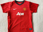 Nike Manchester United Home Shirt Youth Small  6-7 Years