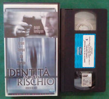 VHS FILM Ita Azione IDENTITA' AD ALTO RISCHIO dolph lundgren ex nolo no dvd(VH84