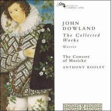NEW Dowland - The Collected Works / The Consort of Musicke, Rooley (Audio CD)