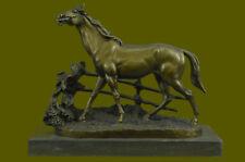 Bronze Hand Hergestellt Aus Verlorener Wachs Sammlerstück Pferd Pferde Stallion Bronze