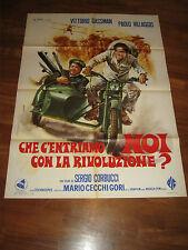 manifesto,che centriamo noi con la rivoluzione Gassman Villaggio Moto SIDECAR