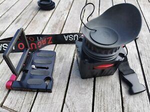 Zacuto viseur cinéma pour appareil photo reflex, caméra, très bon état