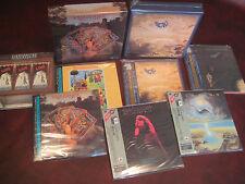 RENAISSANCE & ILLUSION  RARE JAPAN REPLICA OBI  9 CD'S LIMITED TWO BOX SETS