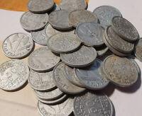 LOt de monnaies 50 centimes FRANCISQUE alu environ 30 g