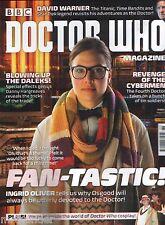 Doctor Who Magazine #488 David Warner Daleks Revenge of Cybermen Ingrid Oliver
