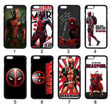 Superhero Deadpool YOUR OPTION Case Cover For Samsung Galaxy / Apple iPhone iPod