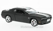 Dodge Challenger SRT 2012 - matt-schwarz/ silber - 1:24 WELLY