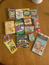Lot Of 14 Educational Flash Card, Games, Matching, Math Cards K-4th New & Used
