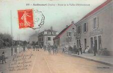 CPA 25 AUDINCOURT ROUTE DE LA VALLEE D'HERIMONCOURT
