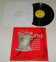 Songs From DR. DOOLITTLE Disneyland DQ-1325 LP Record 1967 Walt Disney
