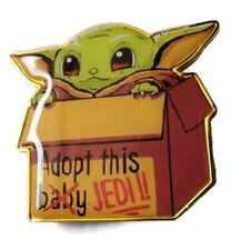 "Baby Yoda / The Child, Mandalorian Pin. 1.5"" Big!"