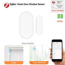Drahtlose Smart Fenster Tür Sensor Tuya ZigBee Smart Leben für Smartthing Echo