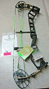 """New 2021 PSE Nock On® Embark 45/70# Compound Bow, LH, DL 23.5""""-30.5""""-Black/Sitka"""