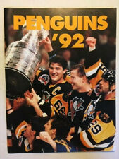 """RARE 1992 PENGUINS STANLEY CUP COMMEMORATIVE YEARBOOK - """"PENGUINS '92"""""""