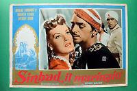 T02 Fotobusta Sinbad The Marinaio Douglas Fairbanks Maureen O Hara Anthony Quinn