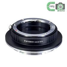 Nik(G)-GFX Adapter Nikon AIS/D/G Mount Lens to Fujifilm GFX Medium Format Camera