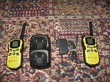 2 Motorola Talkabout MS350R 35 Mile Two Way Waterproof Walkie Talkies w charger