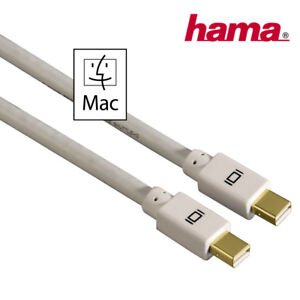 Hama Mini Display Port Anschlusskabel Mac Book - Air - Pro an  iMac 1080 p 1,5 m