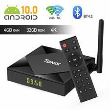 TV Box, tanix Android 10.0 TV Box 4gb ram/32gb ROM h616 Quadcore-Unterstützung