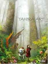 Tahra Game Illustration Art Book Hunter Knight Horse Colossus Cloud Fish Garland
