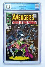 The Avengers #49, Marvel Comics, Cgc 8.5 grade